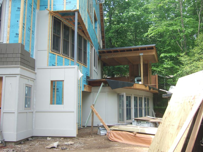 House parts siding trillium architects for House siding parts
